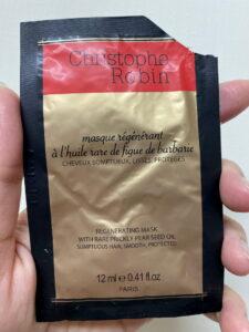 Christophe Robin 刺梨籽油修護髮膜試用包