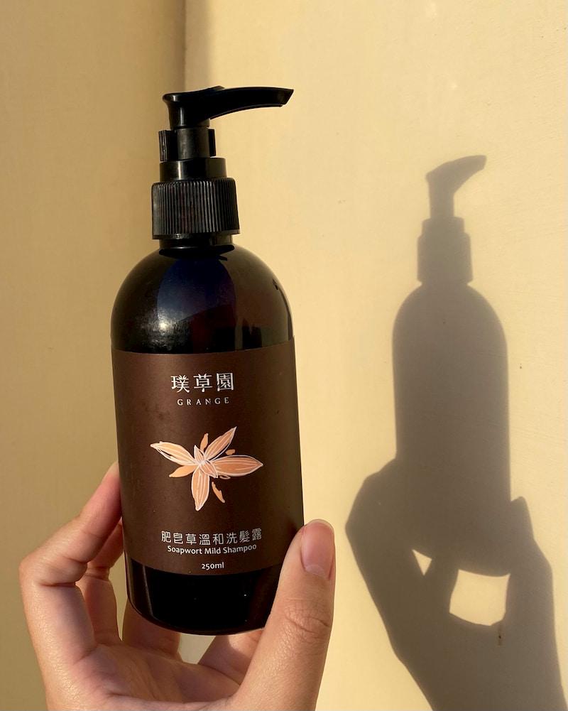 璞草園肥皂草洗髮精評價