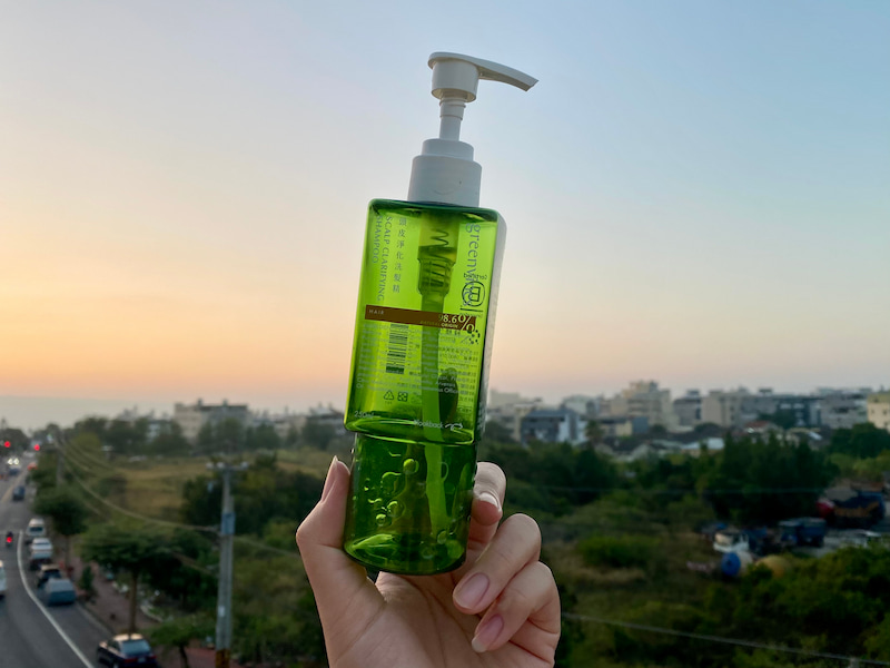 洗髮精推薦綠藤生機頭皮淨化洗髮精
