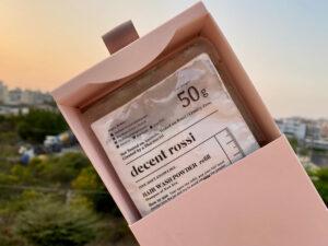 decent rossi 洗髮粉補充包外盒