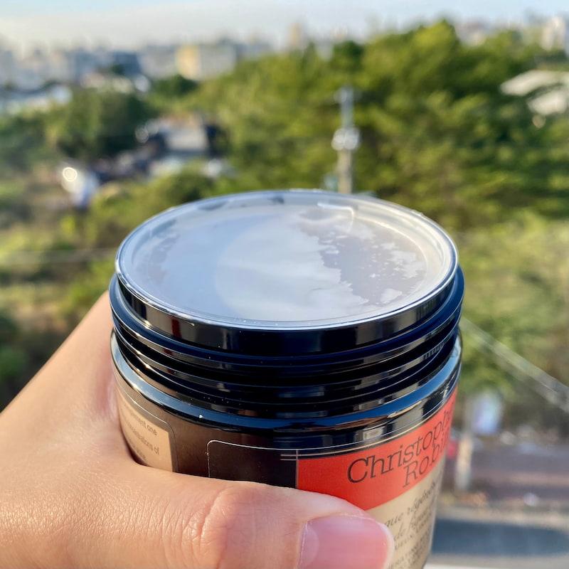 Christophe Robin 刺梨籽油修護髮膜透明蓋子